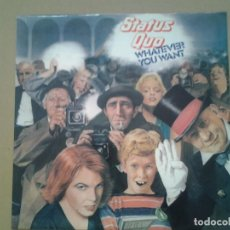 Discos de vinilo: STATUS QUO -WHATEVER YOU WANT- LP VERTIGO 1979 ED. ESPAÑOLA 63 60 175 MUY BUENAS CONDICIONES. Lote 240982105