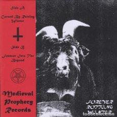Discos de vinilo: MOENEN OF XEZBETH - FOREVER ROTTING WINTER - 7'' [MEDIEVAL PROPHECY, 2019 · JAPAN PRESSING]. Lote 195637267