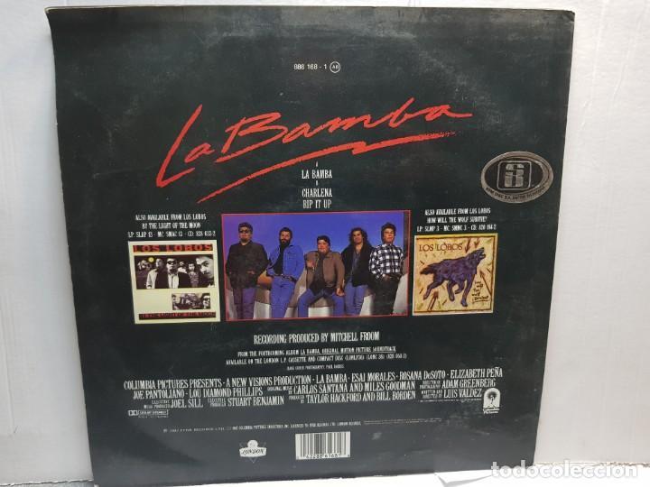 Discos de vinilo: LP-LOS LOBOS-LA BAMBA en funda original 1987 - Foto 2 - 195640651