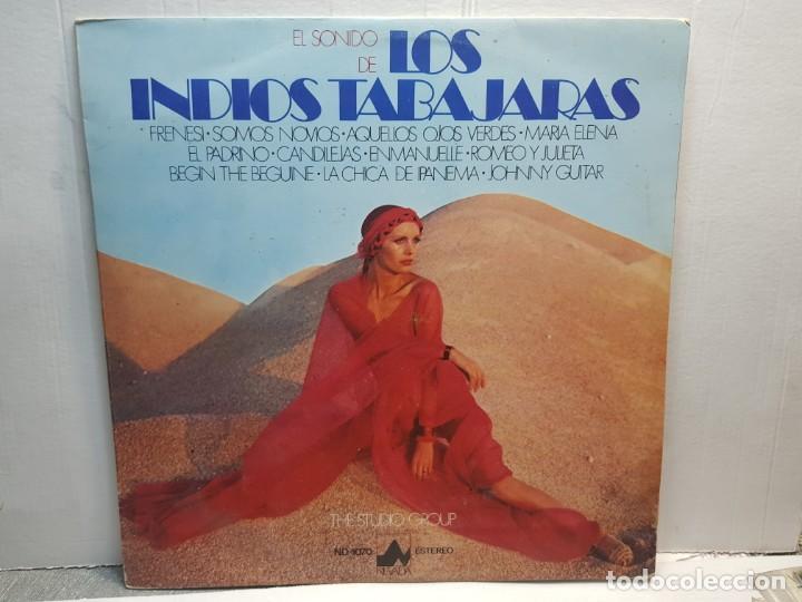 LP-EL SONIDO DE LOS INDIOS TABAJARAS- EN FUNDA ORIGINAL 1977 (Música - Discos de Vinilo - EPs - Grupos Españoles de los 90 a la actualidad)