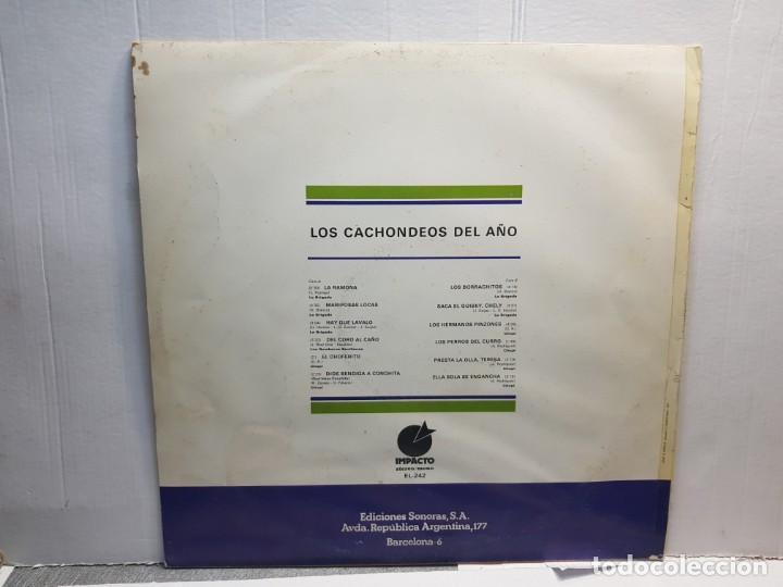 Discos de vinilo: LP-LOS CACHONDEOS DEL AÑO -LA BRIGADA en funda original 1976 - Foto 2 - 195648186