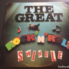 Discos de vinilo: SEX PISTOLS -THE GREAT ROCK N ROLL SWINDLE . Lote 195648805