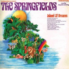 Discos de vinilo: THE SPRINGFIELDS. ISLAND OF DREAMS (PRIMERAS GRABACIONES DE DUSTY SPRINGFIELD). Lote 195649096