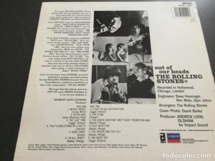 Discos de vinilo: The Rolling Stones - out of our heads - Foto 2 - 195650636