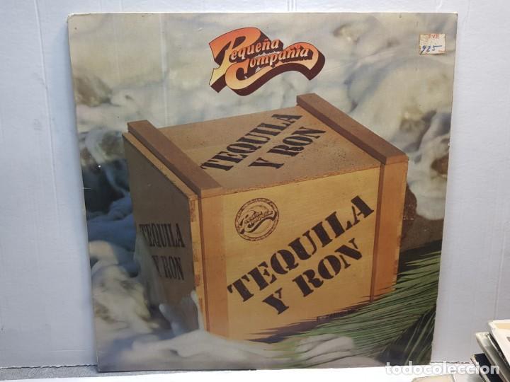 LP-PEQUEÑA COMPAÑIA-TEQUILA Y RON EN FUNDA ORIGINAL 1982 (Música - Discos de Vinilo - EPs - Grupos Españoles de los 90 a la actualidad)
