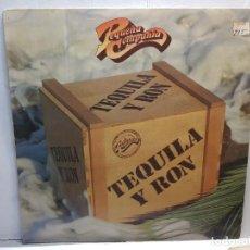 Discos de vinilo: LP-PEQUEÑA COMPAÑIA-TEQUILA Y RON EN FUNDA ORIGINAL 1982. Lote 195651288