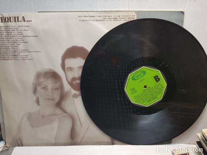 Discos de vinilo: LP-PEQUEÑA COMPAÑIA-TEQUILA Y RON en funda original 1982 - Foto 3 - 195651288