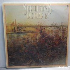 Discos de vinilo: DOBLE LP-SEVILLANAS DE ORO-VOL.18 EN FUNDA ORIGINAL 1988. Lote 195653162