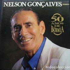Discos de vinilo: NELSON GONÇALVES - 50 AÑOS DE BOHEMIA - CAJA CON 5 LP. Lote 195677998