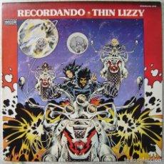 Discos de vinilo: THIN LIZZY.RECORDANDO....DIFICIL...IMPECABLE. Lote 195693490