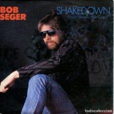 Discos de vinil: BOB SEGER / SHAKEDOWN (BSO BEVERLY HILLS COP II) / THE AFTERMATH (SINGLE 1987). Lote 195696235