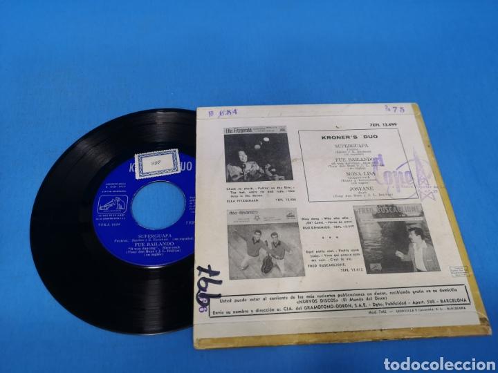 Discos de vinilo: Disco Single KRONER, S DUO: SUPER GUAPA, FUE BAILANDO, MONA LISA, JOSYANE - Foto 2 - 195697613