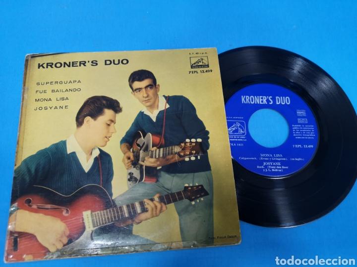 DISCO SINGLE KRONER, S DUO: SUPER GUAPA, FUE BAILANDO, MONA LISA, JOSYANE (Música - Discos - Singles Vinilo - Pop - Rock Internacional de los 50 y 60)