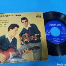 Discos de vinilo: DISCO SINGLE KRONER, S DUO: SUPER GUAPA, FUE BAILANDO, MONA LISA, JOSYANE. Lote 195697613