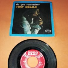 Discos de vinilo: TONY RONALD. DO YOU REMEMBER. SONY PLAY RECORDS. 1968 . Lote 195702693