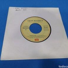 Discos de vinilo: DISCO SINGLE, IRON MAIDEN, WASTING LOVE. Lote 195704401