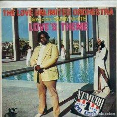 Dischi in vinile: THE LOVE UNLIMITED ORCHESTRA (SOLO CARATULA). Lote 195709688