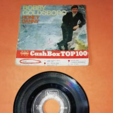 Discos de vinilo: BOBBY GOLDSBORO. HONEY. DANNY. UNITED ARTISTIS RECORDS. 1968.. Lote 195710697