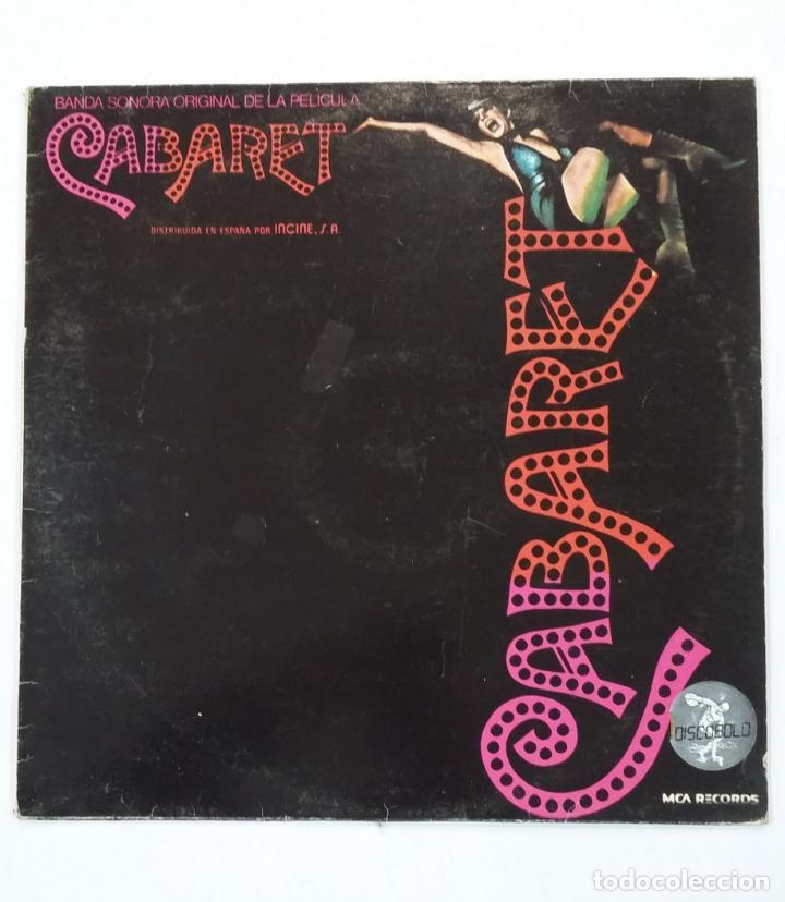 CABARET - BANDA SONORA ORIGINAL DE LA PELICULA. LIZZA MINELLI. LP. TDKLP (Música - Discos - LP Vinilo - Bandas Sonoras y Música de Actores )