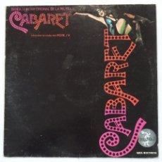 Discos de vinilo: CABARET - BANDA SONORA ORIGINAL DE LA PELICULA. LIZZA MINELLI. LP. TDKLP. Lote 210134503