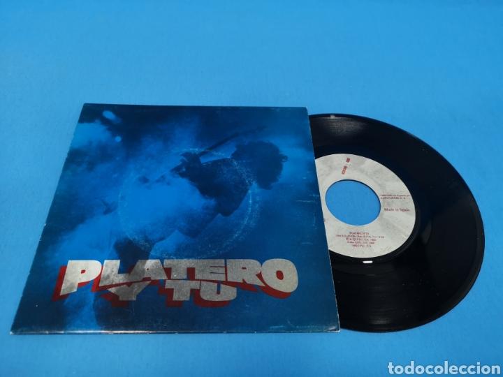 DISCO SINGLE, PLATERO Y TU, SIN SOLUCIÓN, ESA CHICA TAN CARA (Música - Discos - Singles Vinilo - Grupos Españoles de los 90 a la actualidad)