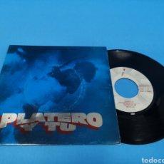 Discos de vinilo: DISCO SINGLE, PLATERO Y TU, SIN SOLUCIÓN, ESA CHICA TAN CARA. Lote 195714013