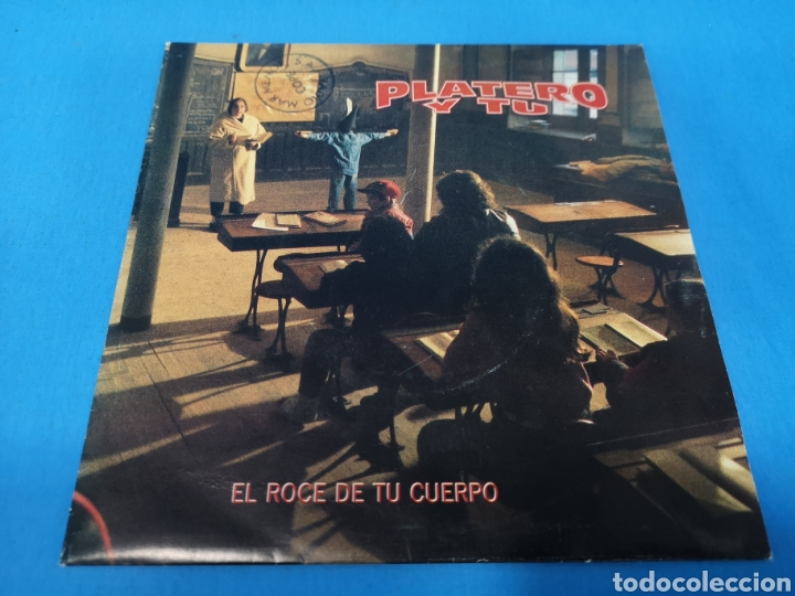 Discos de vinilo: DISCO SINGLE, PLATERO Y TU, El roce de tu cuerpo, Cantalojas - Foto 3 - 195714513