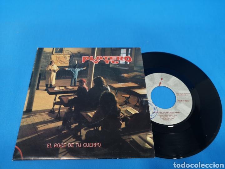 Disco Single Platero Y Tu El Roce De Tu Cuerp Comprar Discos Singles Vinilos De Música De Grupos Españoles Desde Los 90 En Todocoleccion 195714513