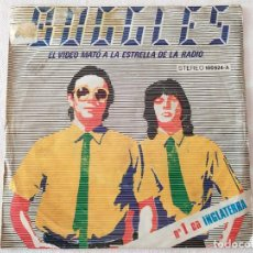 Disques de vinyle: BUGGLES ?– VIDEO KILLED THE RADIO STAR. Lote 195728246