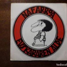 Discos de vinilo: NAFARROA EUSKARAREN ALDE - ETORKIZUNA - NAFARROA EUSKARAREN ALDE + BETI ZAHAR, BETI BERRI. Lote 195736041