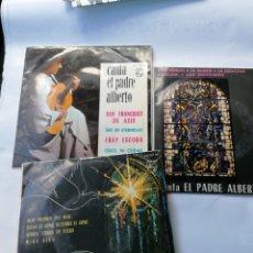 Discos de vinilo: 3 DEL PADRE ALBERTO. Lote 195738590