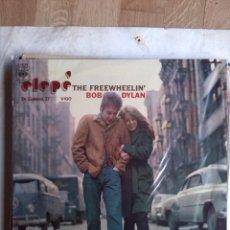 Discos de vinilo: BOB DYLAN - THE FREEWHEELING EDICION DEL AÑO 1971 CON FUNDA INTERIOR. Lote 195753412
