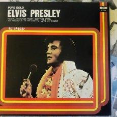 Discos de vinilo: ELVIS PRESLEY - PURE GOLD - REE 1979 - LINEATRES. Lote 177871790