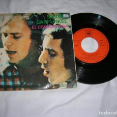 Discos de vinilo: SINGLE DEL GRUPO ,SIMON AND GARFUNKEL ,EL CONDOR PASA. Lote 195759447