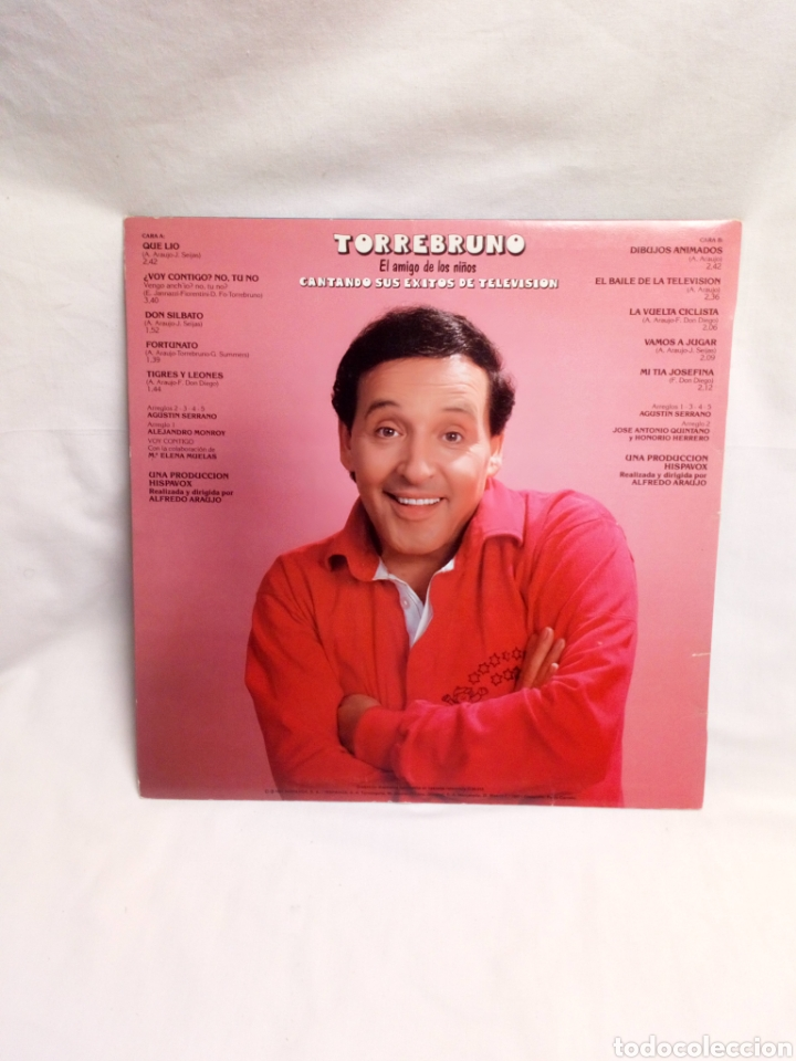 Discos de vinilo: Torrebruno cantando sus éxitos de televisión LP buen estado - Foto 2 - 195763902