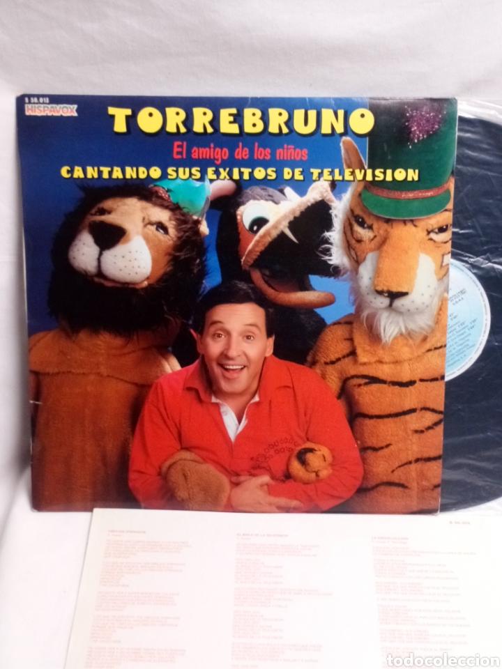 TORREBRUNO CANTANDO SUS ÉXITOS DE TELEVISIÓN LP BUEN ESTADO (Música - Discos - LPs Vinilo - Música Infantil)