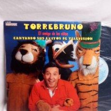 Discos de vinilo: TORREBRUNO CANTANDO SUS ÉXITOS DE TELEVISIÓN LP BUEN ESTADO. Lote 195763902