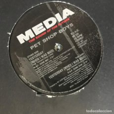Discos de vinil: PET SHOP BOYS - YESTERDAY (WHEN I WAS MAD) - 12'' MAXISINGLE MEDIA 1994. Lote 195763931