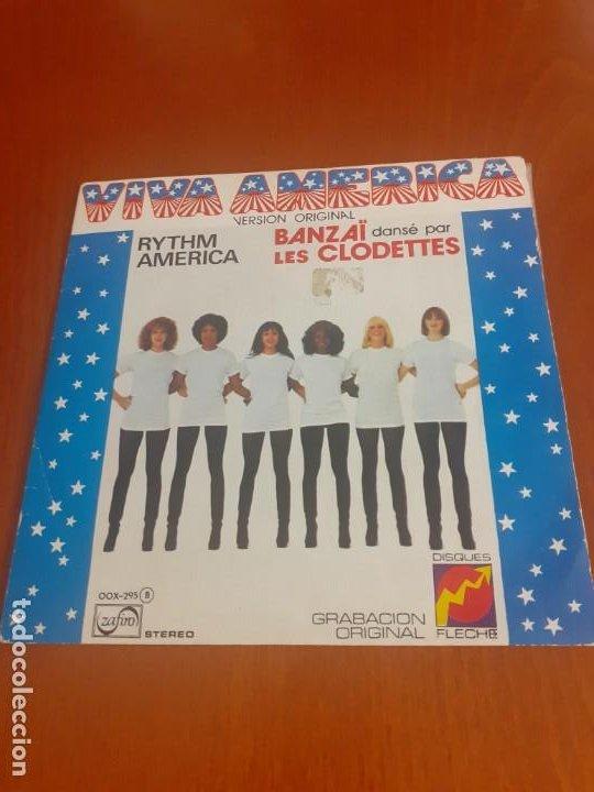 SINGLE 45 RPM VIVA AMÉRICA EN VERSIÓN ORIGINAL (Música - Discos - Singles Vinilo - Pop - Rock - Internacional de los 70)