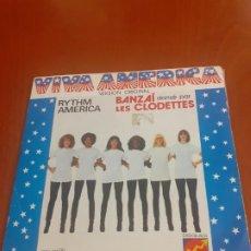 Discos de vinilo: SINGLE 45 RPM VIVA AMÉRICA EN VERSIÓN ORIGINAL. Lote 195769180