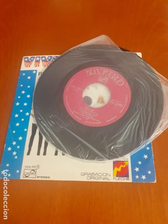 Discos de vinilo: Single 45 rpm Viva América en versión original - Foto 2 - 195769180
