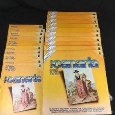 Dischi in vinile: TIERRA CANARIA-COLECCION DE 10 DISCOS DE-ANTOLOGÍA DEL FOLKLORE DE LAS ISLAS-ZAFIRO-TCL 101-1981. Lote 195779831