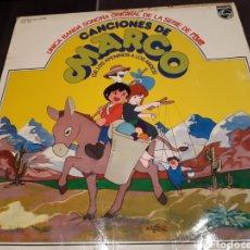 Discos de vinilo: LP CANCIONES DE MARCO DE LOS APENINOS A LOS ANDES.. Lote 195789615