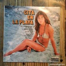 Discos de vinilo: VARIOS CITA EN LA PLAYA. Lote 195802212