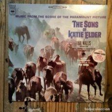 Discos de vinilo: SONS OF KATIE ELDER JOHNNY CASH. Lote 195802350