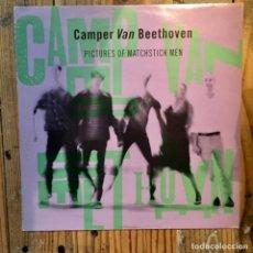 Discos de vinilo: CAMPER VAN BEETHOVEN PICTURES OF MATCHSTICK MEN. Lote 195803175