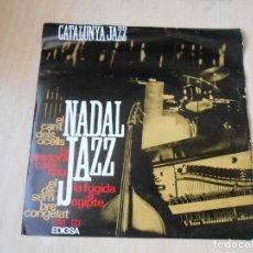 Disques de vinyle: CATALÒNIA JAZZ QUARTET - CATALUNYA JAZZ -, EP, EL CANT DELS OCELLS + 3, AÑO 1965. Lote 195803210