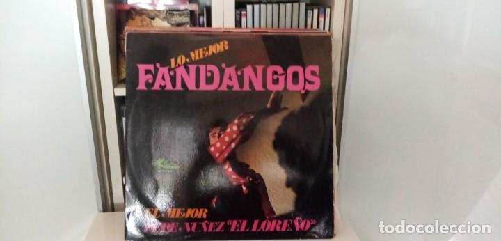 PEPE NÚÑEZ (EL LOREÑO) - LO MEJOR FANDANGOS (Música - Discos - LP Vinilo - Flamenco, Canción española y Cuplé)