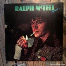 Discos de vinilo: RALPH MCTELL STREETS. Lote 195804485
