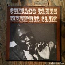Discos de vinilo: MEMPHIS SLIM CHICAGO BLUES. Lote 195805180